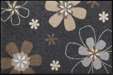 Florentina waschbare Fußmatte Salonloewe Blumenmotiv – Bild 1