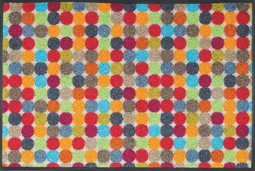 Mikado Dots 50 x 75 cm waschbare Fußmatte wash+dry