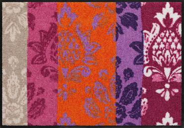 Romantic Ornaments von Salonloewe waschbare Fußmatte – Bild 1