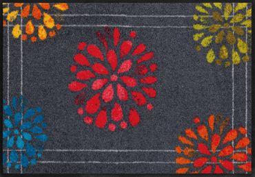 Fireworks von Salonloewe waschbare Fußmatte Feuerwerk – Bild 1