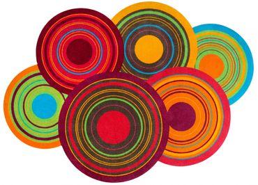 wash+dry Cosmic Colours waschbarer Teppich – Bild 1