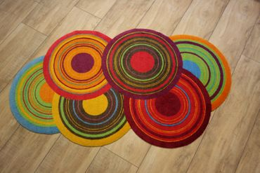 wash+dry Cosmic Colours waschbarer Teppich – Bild 5