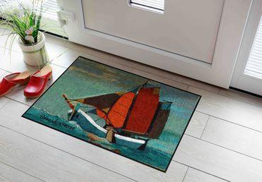 Salonloewe Fußmatte Sail Away 50 x 75 cm Rosina Wachtmeister Maritimes Motiv – Bild 2