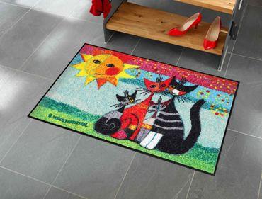 Rosina Wachtmeister Fußmatte Momenti 50 x 75 cm Salonloewe Katzenmotiv Fußmatten – Bild 2