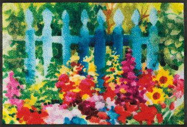 wash+dry Fußmatte Mare di fiori 50 x 75 cm waschbare Fußmatte