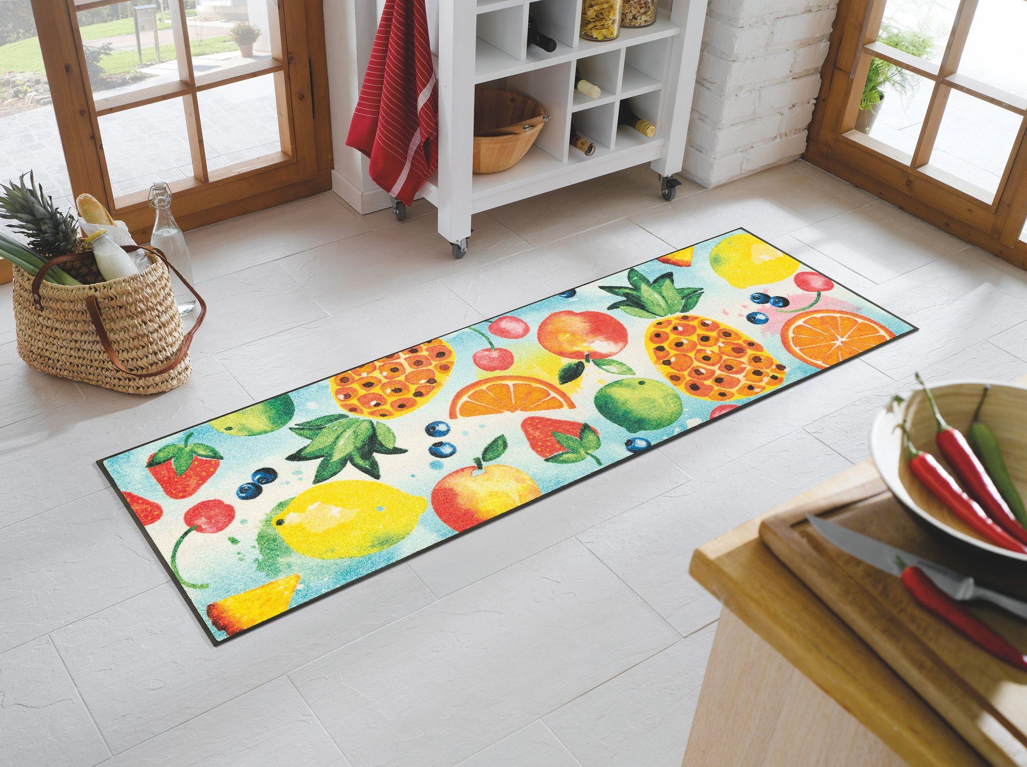 wash dry k chenteppich tutti frutti waschbare fu matte. Black Bedroom Furniture Sets. Home Design Ideas