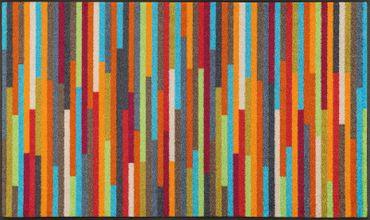 wash+dry Schmutzmatte Mikado Stripes 75 x 120 cm waschbare Fußmatte