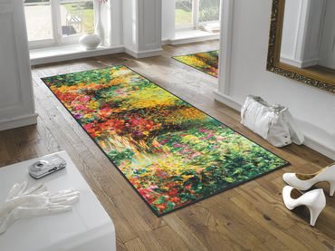 wash+dry Schmutzmatte Primavera waschbare Fußmatte  – Bild 3