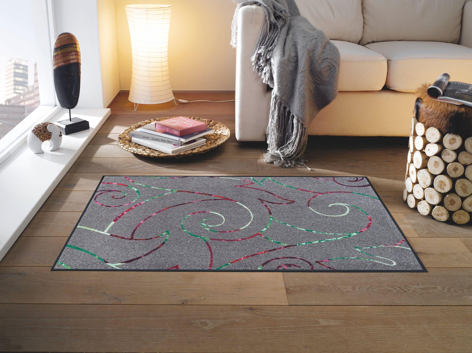 wash dry schmutzmatte alessia waschbare fu matte. Black Bedroom Furniture Sets. Home Design Ideas