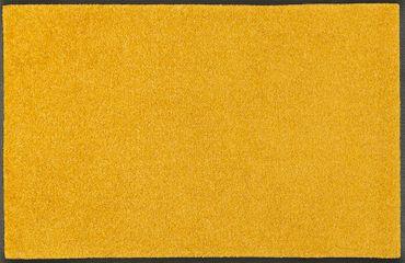 wash+dry Trend-Colour Honey Gold waschbare Fußmatte 7 Größen goldgelb – Bild 1
