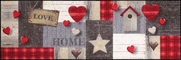Salonloewe Fußmatte Cottage Love waschbare Schmutzmatte – Bild 3