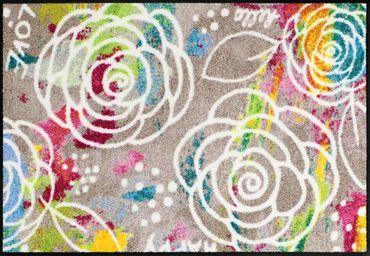 Salonloewe Fußmatte Blossom Carpet waschbare Schmutzmatte