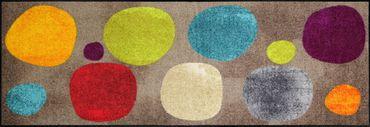 Salonloewe Fußmatte Broken Dots Colourful waschbare Schmutzmatte – Bild 3