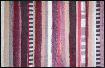 Salonloewe Fußmatte Anna Stripes waschbare Schmutzmatte