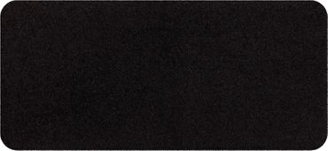 Salonloewe Minimatte Schwarz ohne Rand 30 x 60 cm einfarbig waschbar – Bild 1