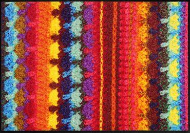 Salonloewe Fußmatte Zorro waschbarer Türvorleger – Bild 1