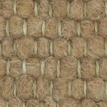 Tisca Handwebteppich Olbia Dogana Schurwolle Beige Farbtöne 1 – Bild 6