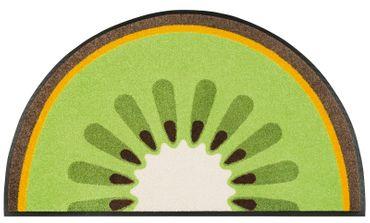 wash+dry Fußmatte Kiwi 50 x 85 cm waschbare Schmutzmatte