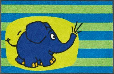 wash+dry Fußmatte Der Elefant waschbare Schmutzmatte DieMaus – Bild 2