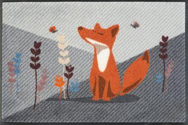 wash+dry Fußmatte Füchsin Emma 50 x 75 cm Fußmatte Schmutzmatte