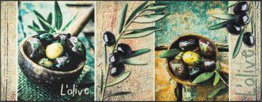 wash+dry Fußmatte L'Olive waschbare Fußmatte Schmutzmatte – Bild 2