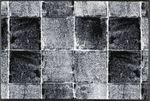 wash+dry Fußmatte Carella waschbare Schmutzmatte Shabbby Chic 001