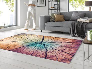 wash+dry Fußmatte Wood Land waschbarer Teppich  – Bild 4