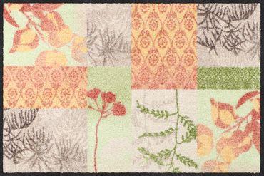 Salonloewe Fußmatte Feel Good waschbare Schmutzmatte Floral – Bild 1