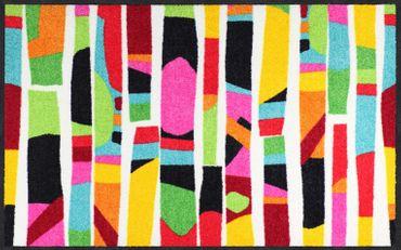 Salonloewe Fußmatte Colour Rhythm colourful waschbar Schmutzmatte bunt – Bild 2