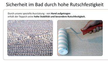 Wunschmaß Badteppich Garda  – Bild 5
