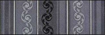 Salonloewe Fußmatte Arabeske Grau waschbar Schmutzmatte  – Bild 2