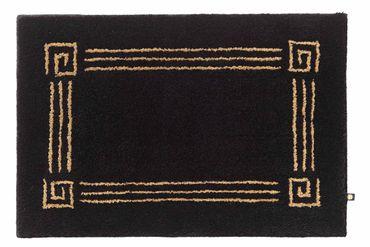 Rhomtuft Badteppich nach Maß Olymp mit Gold oder Silberlurex