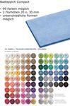 Rhomtuft Badteppich Compact uni Wunschmaßbadteppich in 99 Farben  001