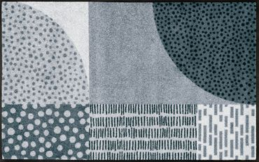 wash+dry Fußmatte Mondo waschbare Schmutzmatte Vintage – Bild 2