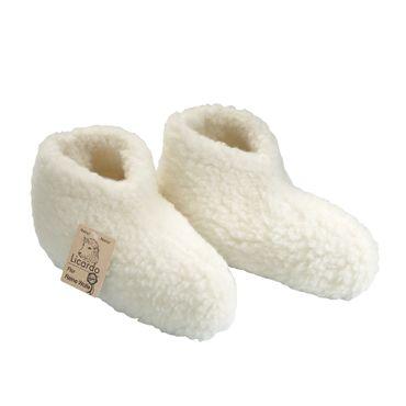 Bettschuhe aus Schurwolle Schlafschuhe Gr. 36-45  – Bild 2