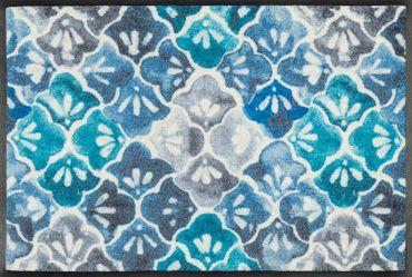 wash+dry Fußmatte Blue Ground waschbare Schmutzmatte – Bild 1
