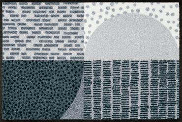 wash+dry Fußmatte Montos waschbare Schmutzmatte Teppich Läufer – Bild 1