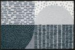 wash+dry Fußmatte Montos waschbare Schmutzmatte Teppich Läufer 001
