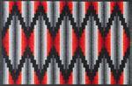 wash+dry Fußmatte Ribanna waschbare Schmutzmatte 001