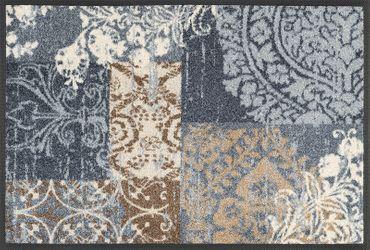 wash+dry Fußmatte Armonia grey 40 x 60 cm waschbare Fußmatte