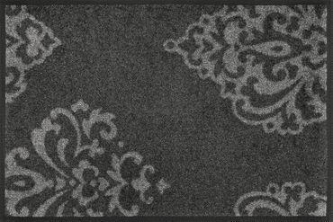 wash+dry Fußmatte Lucia grey 40 x 60 cm waschbare Fußmatte
