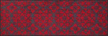 Salonloewe Fußmatte Heart Windows berry waschbarer Türvorleger Läufer  – Bild 2