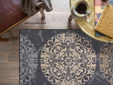 Salonloewe Fußmatte Fliesenkreise waschbarer Türvorleger Läufer  – Bild 5