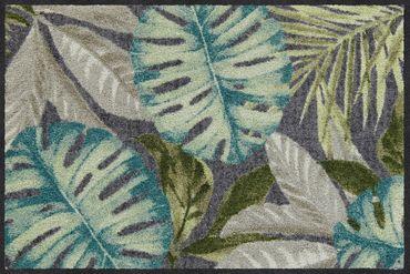 Salonloewe Fußmatte Coco anthrazit waschbarer Türvorleger Läufer  – Bild 1