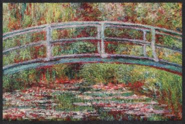 Salonloewe Fußmatte Bridge Water Lilies Claude Monet – Bild 1