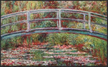 Salonloewe Fußmatte Bridge Water Lilies Claude Monet – Bild 2