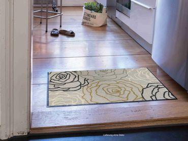 Salonloewe Fußmatte Bara silver Türvorleger Läufer  – Bild 4