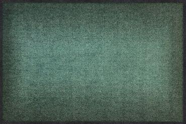 Salonloewe Fußmatte Gradient sage Türvorleger Läufer  – Bild 1