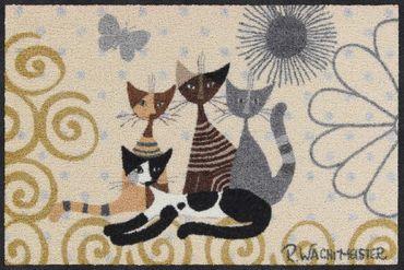Rosina Wachtmeister Fußmatte Fantasia di gatti   – Bild 1