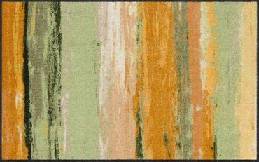 Salonloewe Fußmatte Toscanastreifen waschbarer Läufer  – Bild 2